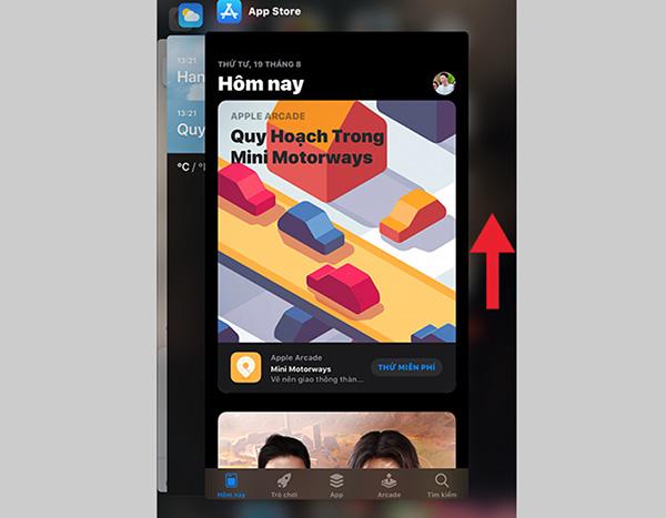 Xóa ứng dụng chạy ngầm bằng cửa sổ đa nhiệm (2)